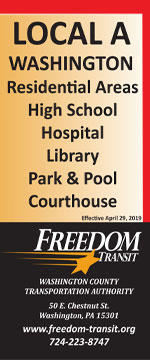 Local A bus schedule - Freedom Transit