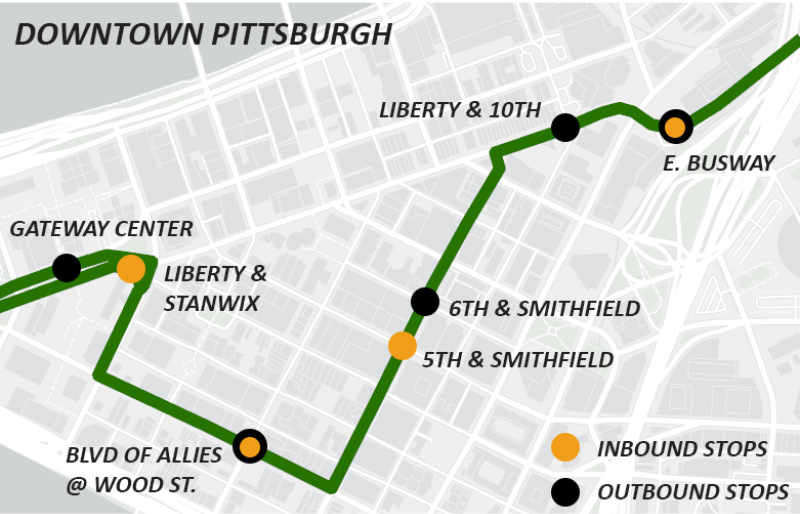 Metro Commuter Bus Service Monday Through Friday